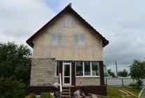 Обшивка дома металлическим сайдингом с утеплением